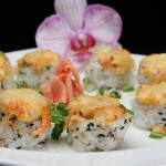 Spicy Tako Crunch Roll